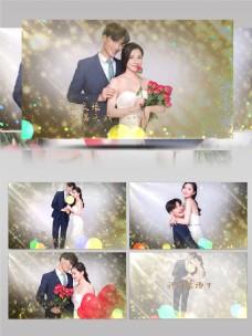 浪漫婚礼电子相册AE模板