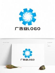 简约大气广告业LOGO设计
