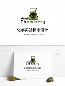原创化学实验标志设计