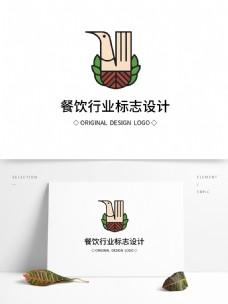 原创餐饮行业标志设计