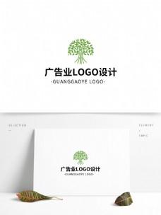简约大气创意广告业logo标志设计