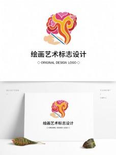 原创绘画艺术标志设计