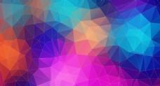 彩色菱形底纹设计