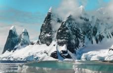 自然风光冰山冰川雪山