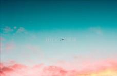 夕阳晨曦天空