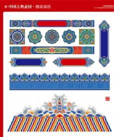 中国风建筑装饰门头