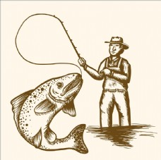 钓鱼logo