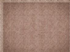 中国风传统图案印花纹理地毯