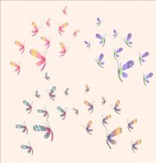 矢量小蝴蝶