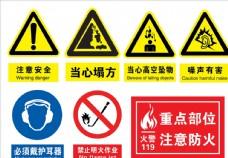 注意安全标志
