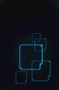 科技海报背景