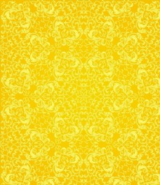 黄色金色规则排列花纹底纹底图