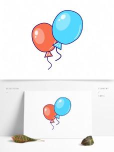 简约卡通气球模板