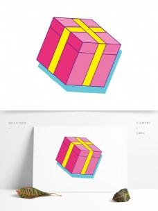 简约手绘礼品盒模板