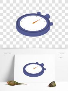 圆形立体闹钟表面