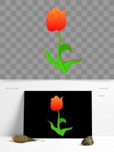 矢量手绘花朵图标