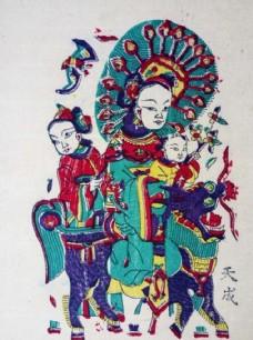 朱仙镇木板年画局部