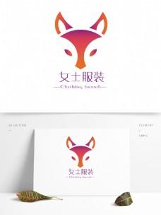 女性内衣女士服装品牌魅惑狐狸LOGO设计