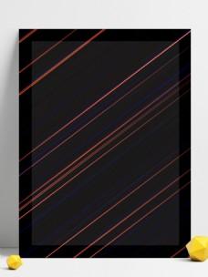 黑色线条背景线条简约大气商务风