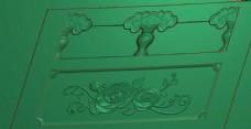 拱桥栏板月季花