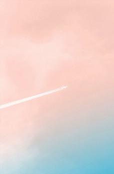 粉蓝色天空