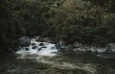 小河流水风景