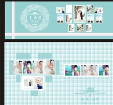 婚礼喷绘展示设计效果图