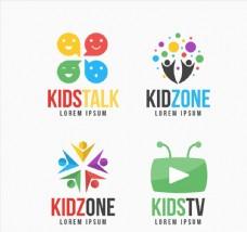 彩色儿童节目标志