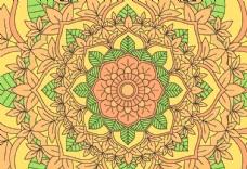 古典民俗花纹