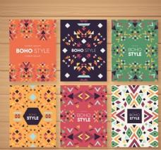 创意波西米亚风花纹卡片