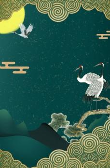 中式背景 电视背景 文化设计