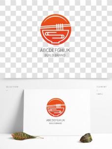 餐饮业简洁高端时尚标识logo通用设计
