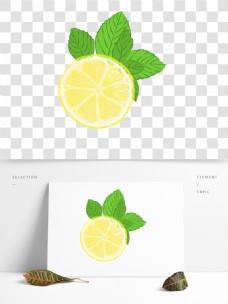 手绘橙子水果透明PNG素材