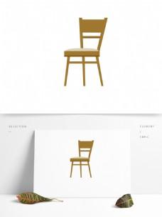 椅子矢量卡通元素