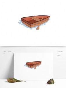 小船卡通矢量元素