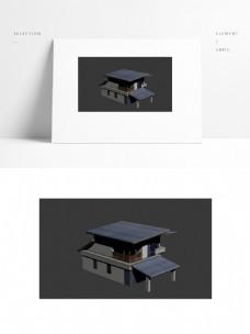 现代别墅模型带贴图