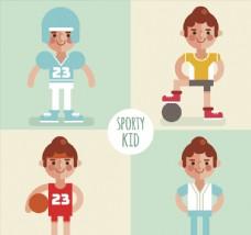 4款创意运动儿童设计