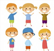 6款阳光笑脸儿童
