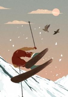 梦游记滑雪