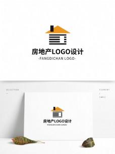 简约创意大气房地产logo标志设计