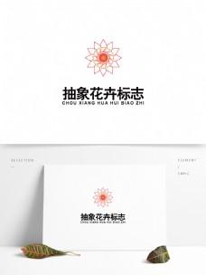 抽象花卉图案logo