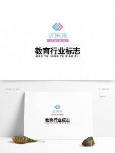 教育行业logo