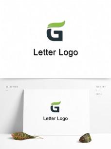 字母变形logo