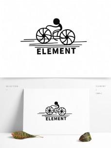 标志人物logo元素