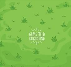 绿色彩绘草地