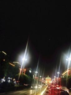 夜晚城市风景