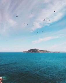 大海看天小岛