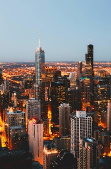 城市俯视图