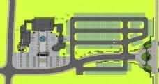 游客服务中心效果图