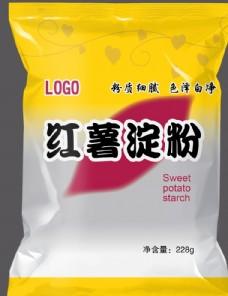 红薯淀粉包装设计图
